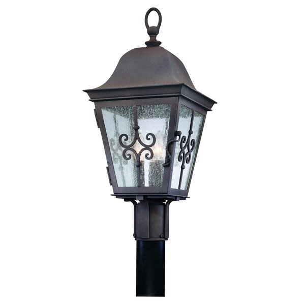 Monterey Outdoor 3-Light Lantern Head by Darby Home Co