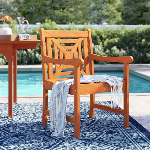 Amabel Patio Dining Chair by Beachcrest Home Beachcrest Home