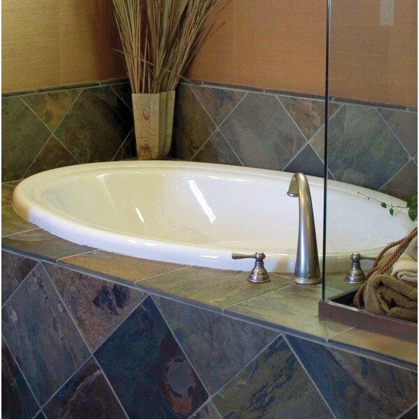 Builder Oval 72 x 42 Air/Whirlpool Bathtub by Hydro Systems