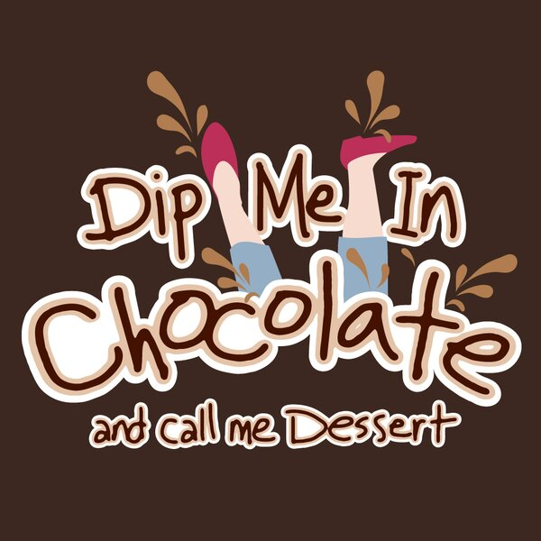 Dip Me in Chocolate Apron by Attitude Aprons by L.A. Imprints