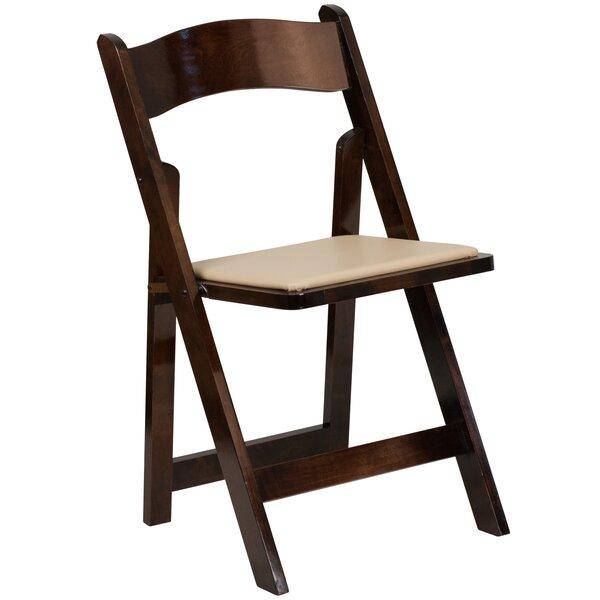 Loughran Vinyl Padded Folding Chair by Red Barrel Studio
