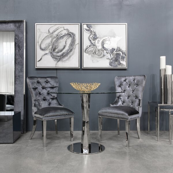 Alpena Upholstered Dining Chair By Everly Quinn