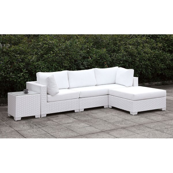 Nerbone 2 Piece Sectional Seating Group with Cushions by Brayden Studio