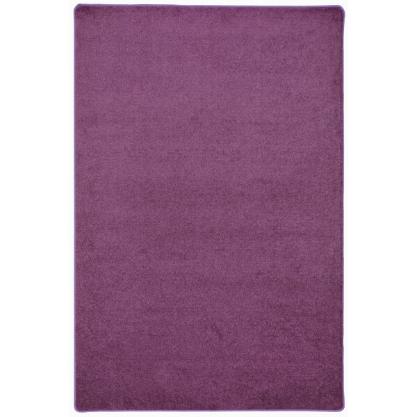 Purple Area Rug by The Conestoga Trading Co.