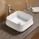 Ceramic Square Vessel Batroom Sink by Royal Purple Bath Kitchen