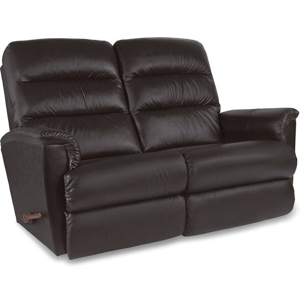 Tripoli Leather Reclining Loveseat by La-Z-Boy