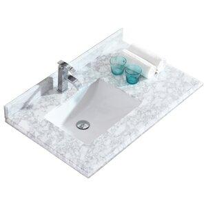 36 in bathroom vanity with top.  Vanity Tops You ll Love Wayfair