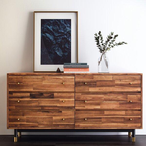 Manolla 6 Drawers Double Dresser by Brayden Studio