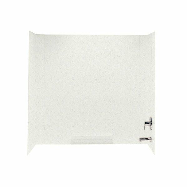 Veritek 58 x 60 x 30 Three Panel Shower Wall by Swan