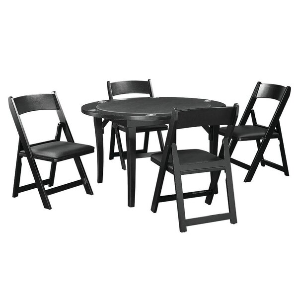 48 Folding Poker Table Set by RAM Game Room