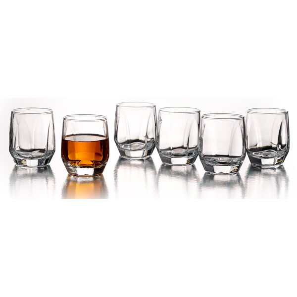 Contour 2.75 oz. Shot Glass (Set of 6) by Style Setter
