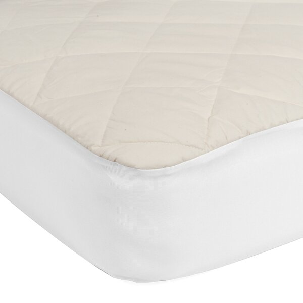 Quilted Crib Mattress Pad By Sealy.