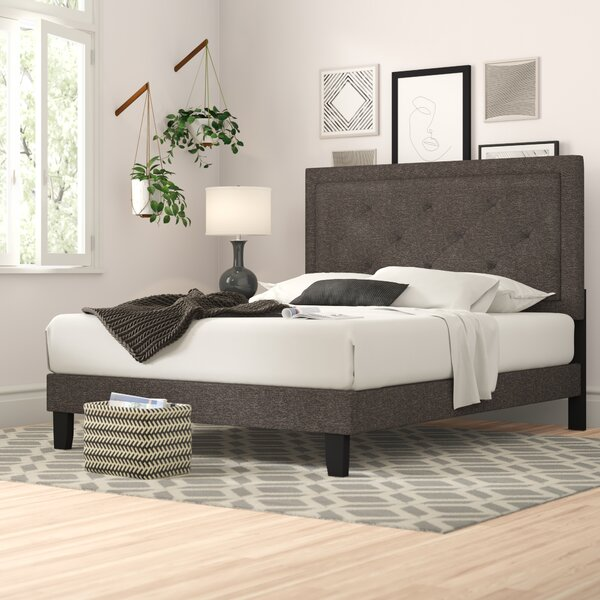 Cynthia Standard Upholstered Bed by Zipcode Design