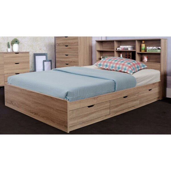 Andrews Storage Platform Bed by Trule Teen
