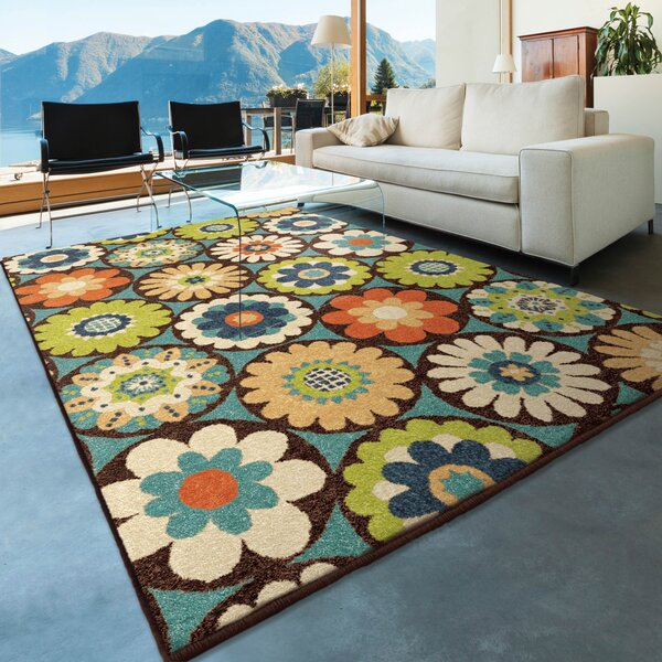 America Area Rug by Red Barrel Studio