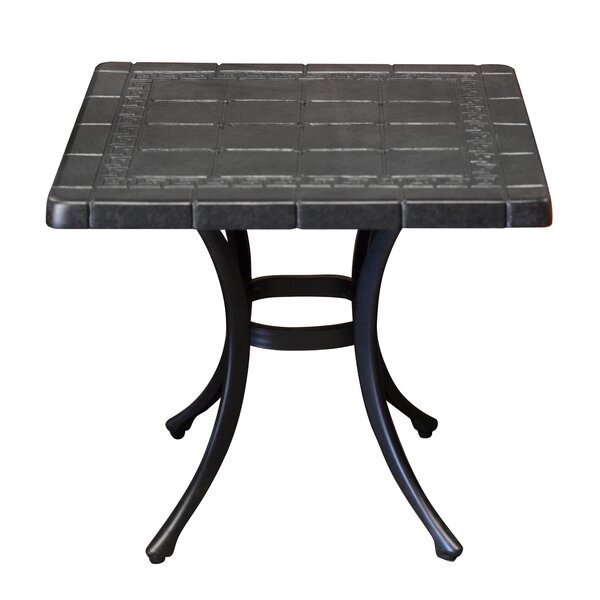 Pineville Metal Bistro Table by Darby Home Co Darby Home Co