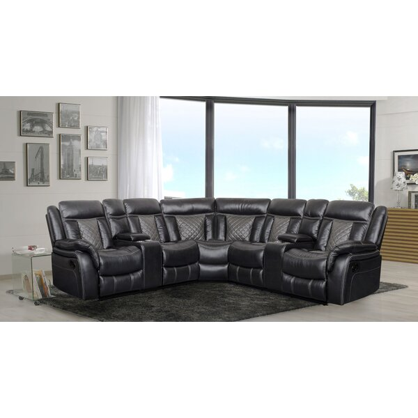 Okeefe Motion Symmetrical Reclining Sectional by Red Barrel Studio