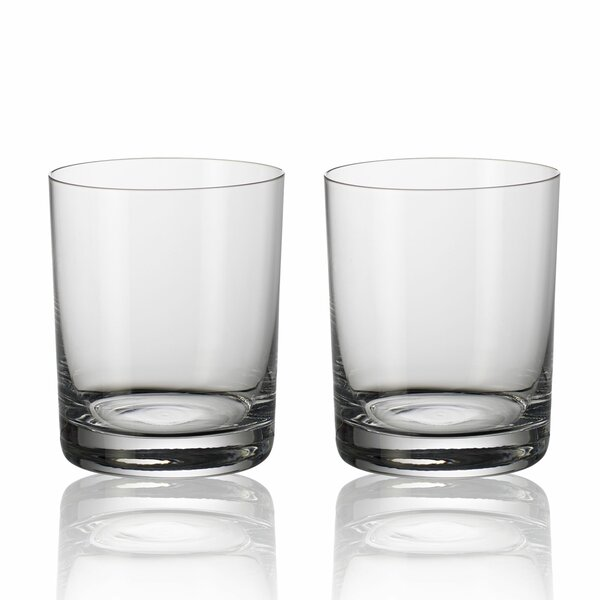 Purismo Bar 14 oz. Crystal Cocktail Glass (Set of 2) by Villeroy & Boch