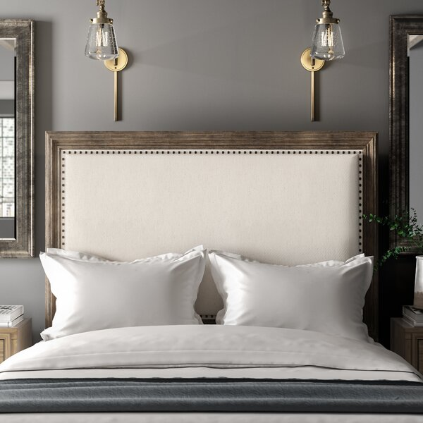 Eickhoff Upholstered Panel Headboard by Greyleigh