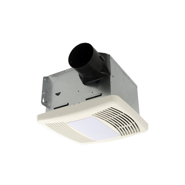 HushTone 80 CFM Energy Star Bathroom Fan With Light by Cyclone