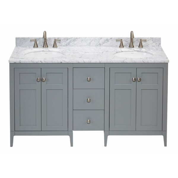 Briella 61 Double Bathroom Vanity Set by Ronbow