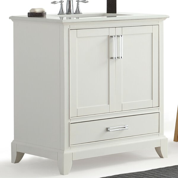 Elise 31 Single Bathroom Vanity Set by Simpli Home
