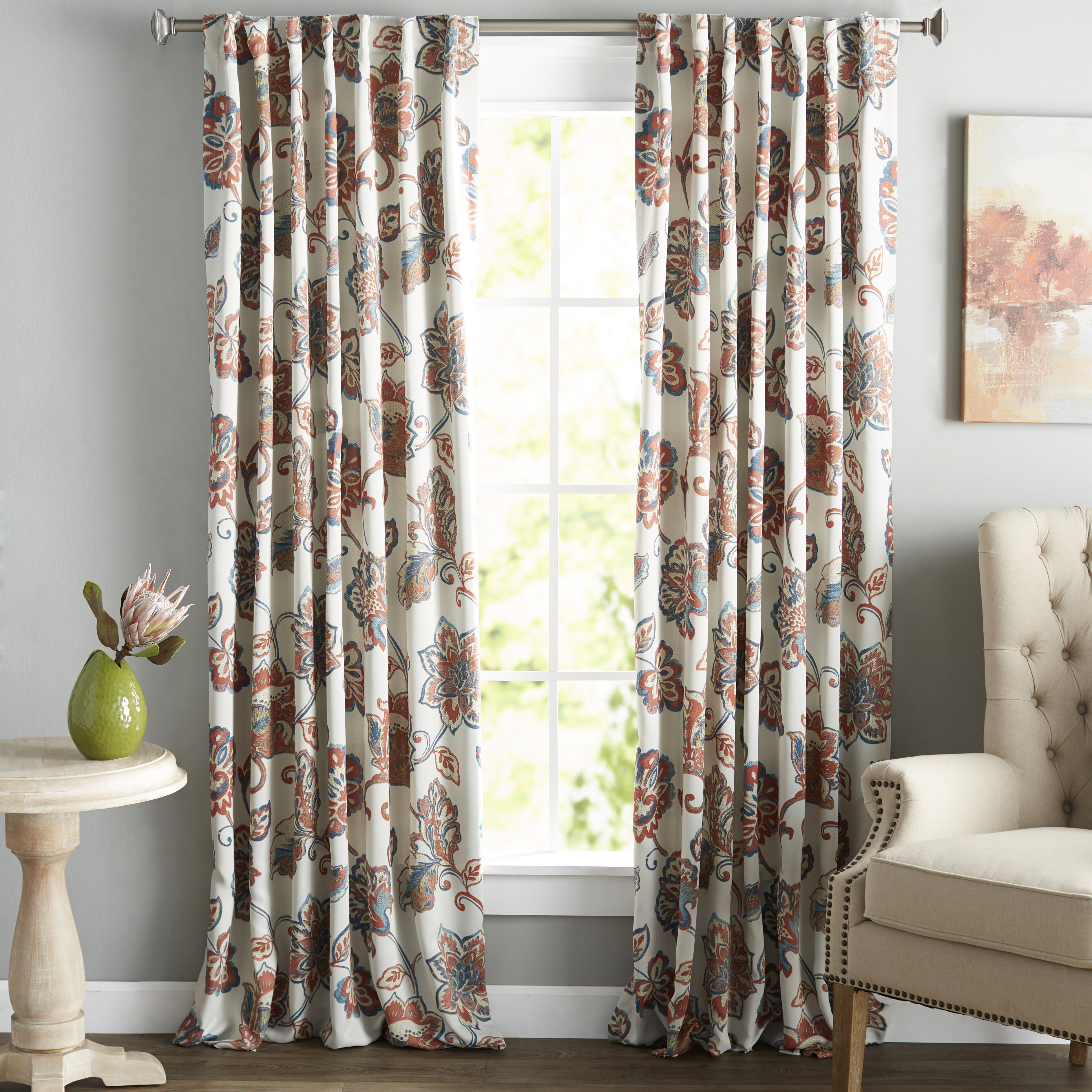 curtains blackout curtain thermal pocket tone windows rugs sailboat nautical panels kids lane pdp birch reviews rod