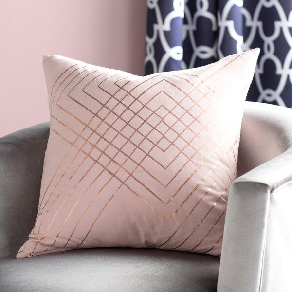 Steele Cotton Pillow Cover by Willa Arlo Interiors  @ $43.00