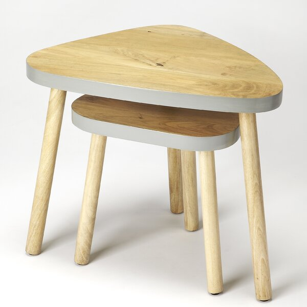 Acevedo 2 Piece Nesting Tables By George Oliver