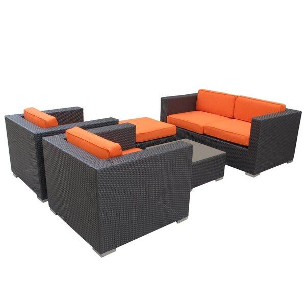 Caylor 5 Piece Sofa Set with Cushions by Brayden Studio Brayden Studio