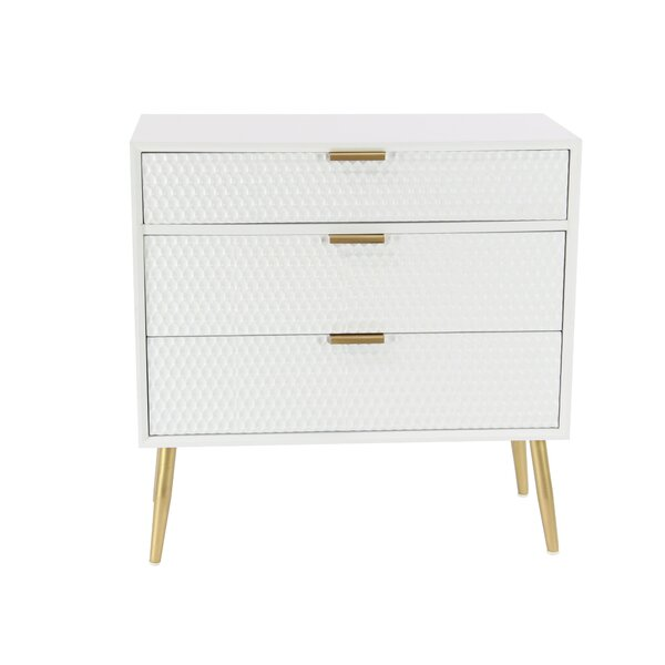 Dimitris Modern 3 Drawer Accent Chest By Everly Quinn