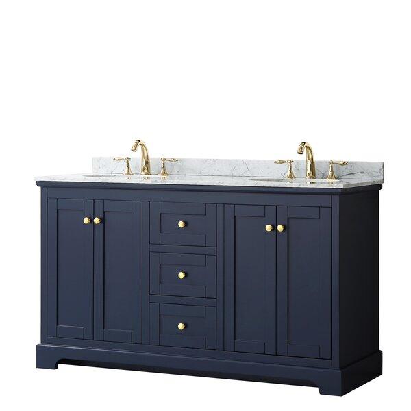 Avery 60 Double Bathroom Vanity Set