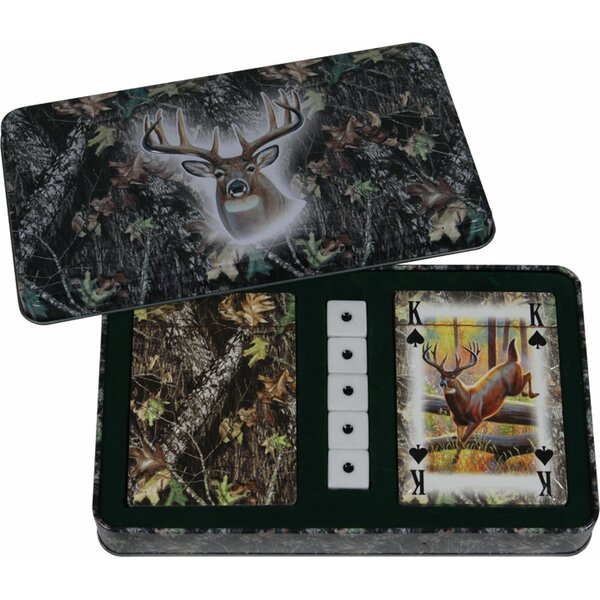Deer Dice and Playing Card by Rivers Edge