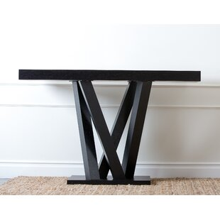Brashear Espresso Wood Sofa Table By Orren Ellis
