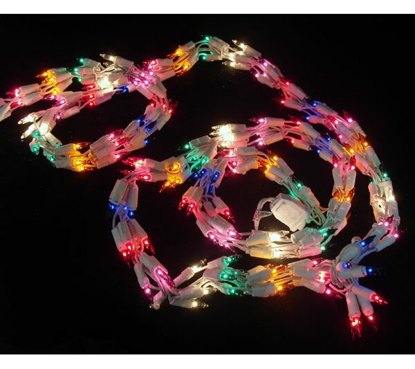 Christmas Light Garland with 300 Mini Lights by Vickerman
