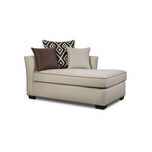 Heath Chaise Lounge by Simmons Upholstery