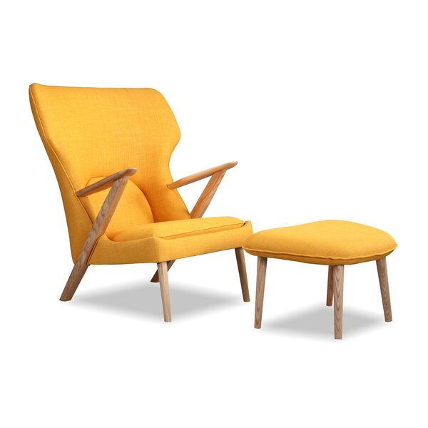 Cub Lounge Chair and  Ottoman by Kardiel
