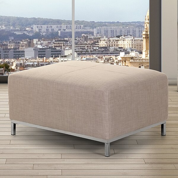 Lillo Cube Ottoman by Home Loft Concepts