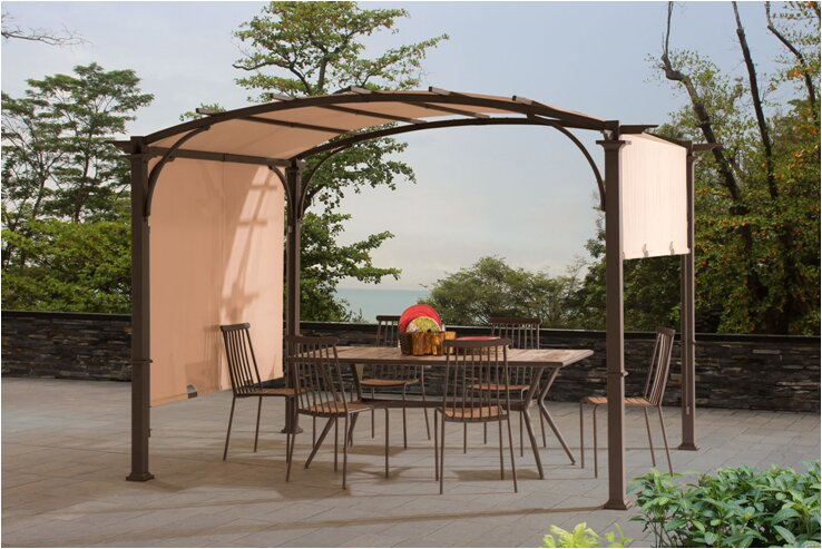 Replacement Canopy (Deluxe) for Meadow Pergola - Sunjoy Replacement Canopy (Deluxe) For Meadow Pergola & Reviews