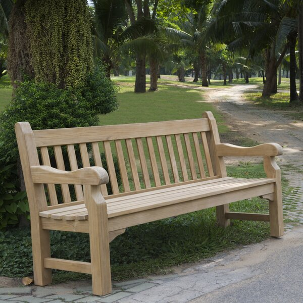 Balthrop Teak Garden Bench by Darby Home Co