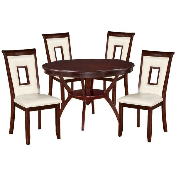 Rutan 5 Piece Dining Set by Red Barrel Studio