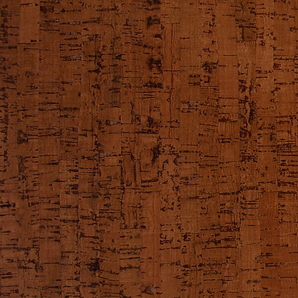 12 Cork Hardwood Flooring in Titan Brown by APC Cork