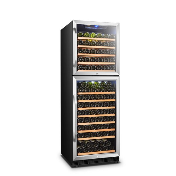 162 Bottle Dual Zone Freestanding/Built-In Wine Cellar By Lanbo