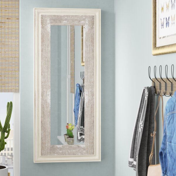 Sideling Hill Rustic Full Length Mirror by Bungalow Rose