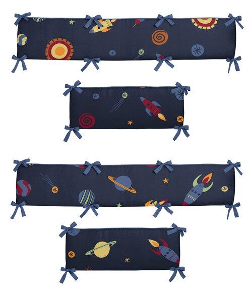 Space Galaxy Crib Bumper by Sweet Jojo Designs