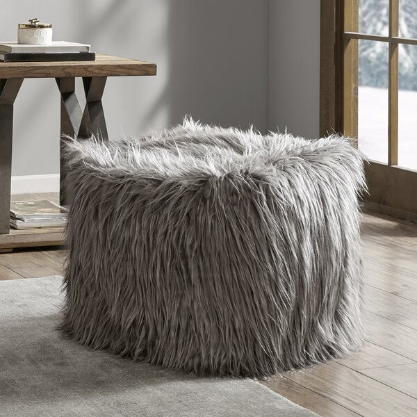 Krish Eyelash Pouf by Union Rustic