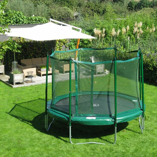 12 ft. Round Trampoline with Enclosure by Kidwise