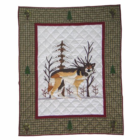 Call of The Wild Crib Quilt by Patch Magic