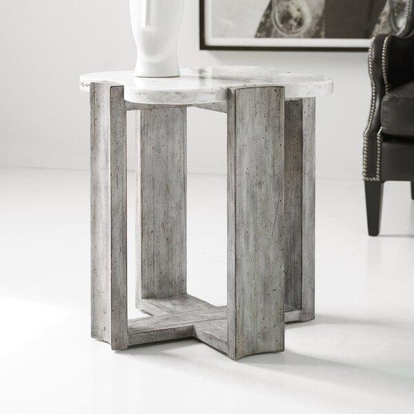 Melange Naomi End Table By Hooker Furniture