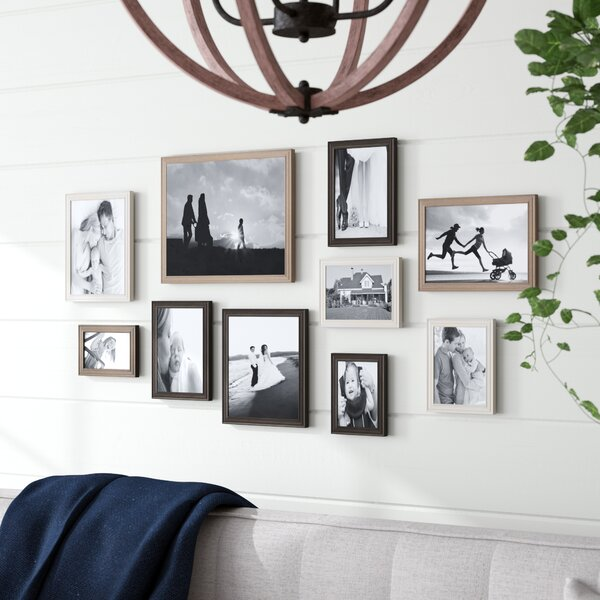10 Piece Mcclaskey Gallery Picture Frame Set by Gracie Oaks